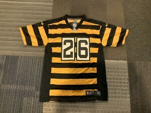 Nike Pittsburgh Steelers Leveon Bell #26 Throwback Bumblebee Boys Large Jersey