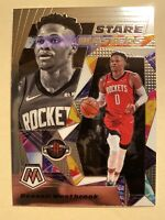 2019-20 Panini Mosaic Russell Westbrook Stare Masters Insert #1 - MINT! WOW!!