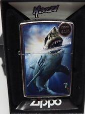 Rare Mazzi Shark Attack Zippo Lighter 29568