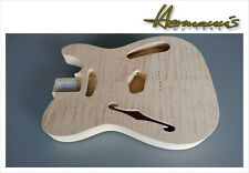 Thinline Telecaster two piece Swamp Ash body Quilted Maple Top peso sólo 1490g