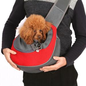 New Portable Pet Puppy Dog Carrier Backpack Travel Tote Shoulder Bag Mesh Sling