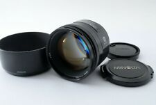 *Read* Minolta AF 85mm F/1.4 Prime Lens for Sony w/Hood From Japan Tested #5102