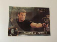 "Rittenhouse ""STARGATE SG-1""  #UK S8 Promo Trading Card TV Series (1997-2007)"