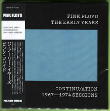 Pink Floyd THE EARLY YEARS. CONTINU/ATION 1967-1974 SESSIONS CD mini-LP Sealed