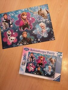 Ravensburger Disney Frozen Princess Anna Elsa Olaf Jigsaw Puzzle Age 9+ Years