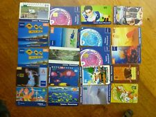 21 x Telstra phonecards