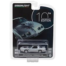 Greenlight 1979 Pontiac Firebird T/A 10th Anniversary Silver 1:64 27940- D