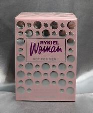 RYKIEL WOMAN NOT FOR MEN ! EAU DE TOILETTE NATURAL SPRAY 40ML. 1.3 FL.OZ RARE