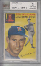 1954 Topps #250 Ted Williams Red Sox BVG 3 VG Z10013 - BVG Vg (3)