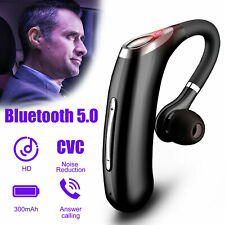 Wireless Bluetooth 5.0 Headset Headphone Sports Earpiece Earbuds Noise Reduction