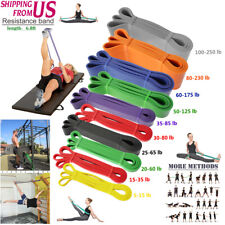 Power Pull Up Resistance Band Gym Body Stretching Loop Exercise Fitness Yoga