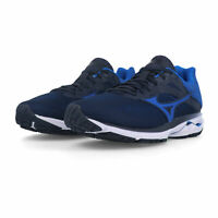 Mizuno Mens Wave Rider 23 Running Shoes Trainers Sneakers - Blue Navy Sports
