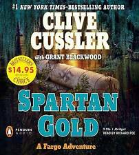 Spartan Gold by Clive Cussler (CD-Audio, 2011)