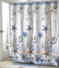 Decorative Bathroom Shower Curtain 70x72 Ocean Seashell Beach Theme Bath Decor