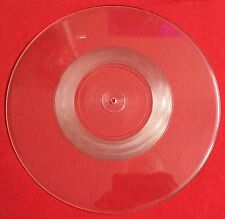 MADONNA - Crazy For You - Rare UK Clear Uncut Picture Disc W0008P Test Pressing