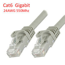 1.5 Ft (0.5m) Cat6 RJ45 8P8C 550MHz LAN Ethernet Network Patch Cable