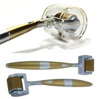 1080 Titanium Derma Micro Needle Face Body Roller for Scars Cellulite Skin Care