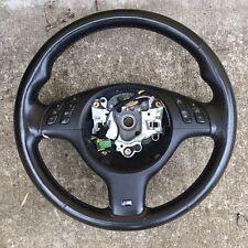 BMW M Sport M Technic Tech  E46 E38 E39 X5 E53 Steering Wheel Leather M5 M3