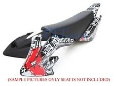 GRAPHICS DECALS & PLASTIC KIT HONDA CRF50 SDG 107 H DE05+