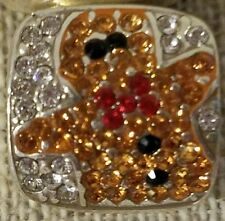 BRIGHTON BLINGY GINGERBREAD MAN CHARM BEAD