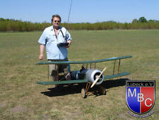 WWI 1/4 Scale Bristol Scout  Giant Scale RC Model AIrplane Printed Plans