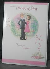 "BN - WEDDING - GREETINGS CARD - ""ON YOUR WEDDING DAY"" - STYLE 4"