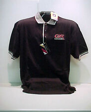BUICK GS STAGE1 BLACK/WHITE  GM LICENSED POLO SHIRT (8537)