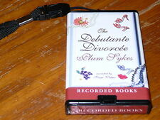 PlayAway The Debutante Divorcee by Plum Sykes AudioBook 6.75h Unabridged RB 2006