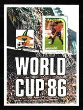 1986 St Vincent Football World Cup - Mexico 1986 $3.00 mint minisheet.