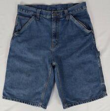 Faded Glory Jeans Co Mens Denim Carpenter Shorts Medium Wash Summer Clothing