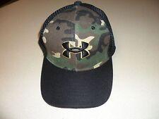 Camoflauge black mesh hat Under Armour logo w/ Snapback closure New