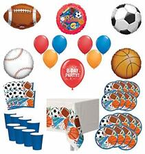 Mayflower Products Sports Theme Party Supplies 8 Guest Entertainment kit and ...