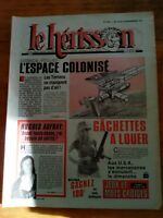 LE HERISSON n°1857 - 1981 - HUMOUR - espace colonisé - Hughes Auffray