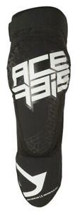 Acerbis Motocross Enduro Knee Pads X-Zip Black Adult One Size New In