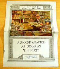PRATT & LAMBERT VARNISH PAINT 1922-23 Ad Campaign Printed 1922 NORMAN ROCKWELL
