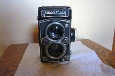 Viintage ROLLEIFLEX Camera 3,5 E, Type 2 (Circa 1957 - 1959) filters; guide, etc