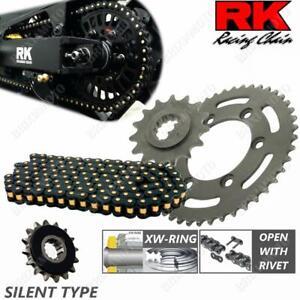 KIT TRASMISSIONE SILENT RK 525ZXW17-38BKR KTM 1290 SUPER DUKE R 2014-2018