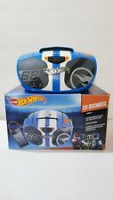 2013 Hot Wheels CD Auxilary Input Boombox Pristine Working Aux