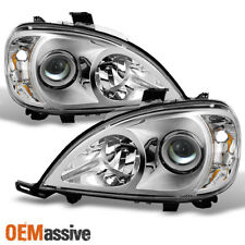 98-01 Mercedes Benz W163 ML320 ML430 Projector Headlights Headlamps Left+Right