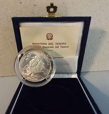 MONETA ITALIA LIRE 10.000 ARGENTO MESSINA 1995 F.D.C UNC FIOR DI CONIO + SCATOLA