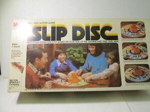 Milton Bradley Slip Scheibe Skill & Aktion Brettspiel 1980 gm1269