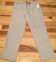 Gap Mens Small (30 X 30 - 33 X 30) Light Gray 4-Pocket Casual Or Work Pants. Nwt