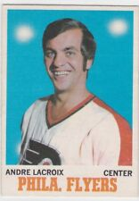 1970-71 O PEE CHEE HOCKEY ANDRE LACROIX #84 FLYERS VGEX *61759