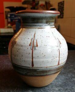 Lovely Nick Douglas Posy Vase West Pottery Stoneware Studio Pottery Devon 1980s