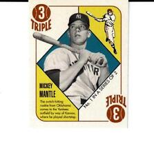 2007 Topps 51 Red Backs #1 Mickey Mantle New York Yankees Hall of Famer