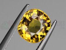 Ceylon Yellow Sapphire VS 9x8mm Cushion 2.69ct Loose Natural Gemstone Sri Lanka