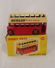 "Boxed Dinky Toys no. 290 Double Deck Bus ""Dunlop"" 1959-1961 # 2"