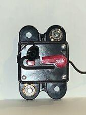 Audiopipe 200Amp Manually Resettable Circuit Breaker CB200AP