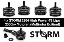 4x STORM 2204 2300kv High Power Racing Motoren für 4s Lipo FPV Racing Quadcopter