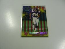 Randy Moss 1999 Pacific Crown Royal Franchise Glory card #14